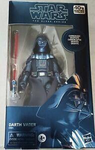 Star Wars Black Series Carbonized / Graphite 40th anniversary Dark Vador