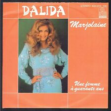 DALIDA  RARE 45T Allemagne  ARIOLA 103.073 MARJOLAINE Disque NEUF / MINT