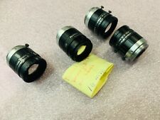 LOT 4x Fujinon 16mm C-mount industrial inspection CCTV lens  HF16HA-1B HF16HA-1