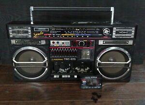 Lasonic TRC-975 Jumbo Boombox Ultra Rare Vintage Ghetto BlasterHip Hop