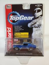 AUTO WORLD  TOP GEAR BBC Blue 1:64 SCALE 1967 FORD MUSTANG GT #1 2013 ( NEW )