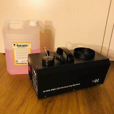 E-Lektron NV-1010-DMX Nebelmaschine 1000W RGB LED inkl. 2,5L Nebelfluid OVP+RE