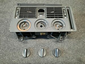 BmW E21 Air Conditioning and Heater Control Panel