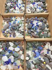 Genuine English Sea Glass - Mixed Colours - Min 150g Per Box