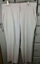 SAG HARBOR Womens Trousers Dress Pants Off White 16 P Petite Tummy Control box B
