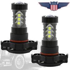 2X 100W 5202 H16 LED Fog Lights Bulbs Driving Lamp DRL 6000K Super White 12V