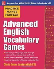 Übung macht den Meister Advanced English Vocabulary Games (Übung macht den Meist...