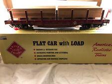 Aristo Craft Trains Flat Car with Load ATSF Santa Fe 1:29 ART-46320 Polks Model