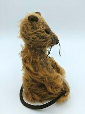 """Vintage Rat Mouse Plush 7"""" tall Vintage Stuffed Animal"""