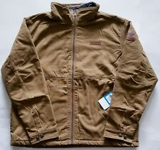 Columbia Beacon Stone Mens Water Resistant Sherpa Lined Jacket, Brown, XXL, $160