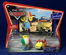 New GUIDO & LUIGI Ferrari Racing Fan Gear - Pixar Cars Supercharged MOVIE MOMENT