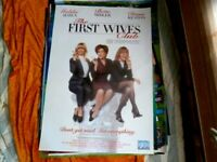 THE FIRST WIVES  CLUB 1 SHEET MOVIE POSTER