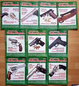 Waffenmagazin 1990 komplett Zeitschrift Pistolen Hefte internationales Jahrgang