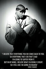 TUPAC SHAKUR 24x36 poster EYES ON ME BROKEN WINGS HIP HOP RAP MUSIC GANGSTER NEW