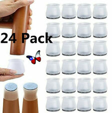 8or24 Ruby Slider Chair Leg Protector For Hardwood Floors, Fits All Shape Chair