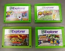 Lot of 4 Leap Frog Explorer Cartridges