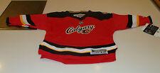 2013-14 Calgary Flames НХЛ альтернативный 3-й Джерси ребенка детский 2-4t Reebok ребенка ясельного возраста