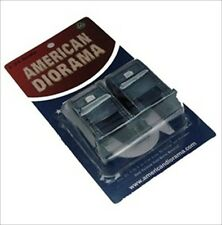 MAIL BOX DIORAMA 2PC SET FOR 1:24 DIECAST MODEL CARS BY AMERICAN DIORAMA 09175