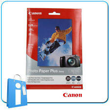Papel Fotográfico Photo Paper Plus High Gloss Canon 20 Hojas 270g 10x15cm
