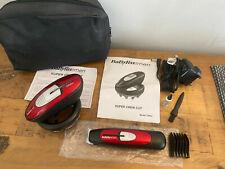 IMMACULATE BABYLISS For MEN Cordless SUPER CREW CUT Hair Clipper Set BARGAIN