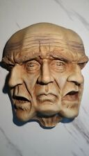 """Faces Of The Nightmare  10"""" Wall Sculpture
