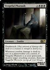 VENGEFUL PHARAOH M12 Magic 2012 MTG Black Creature — Zombie RARE