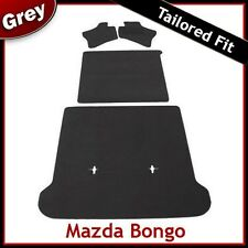 MAZDA BONGO Full Set of Tailored Fitted Carpet Car Floor & Boot Mats GREY