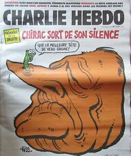 CHARLIE HEBDO No 1267 de NOVEMBRE 2016 CHIRAC PRIMAIRE MEILLEURE TETE DE VEAU