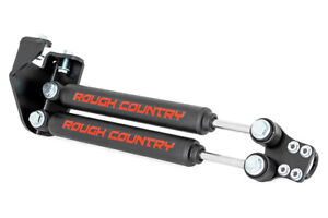 Rough Country Dual Steering Stabilizer For Jeep Wrangler YJ 87-95