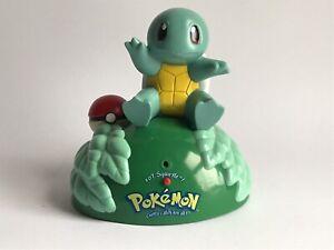 "Pokemon Squirtle Electronic Statue #07 Trendmasters Nintendo 1999 8"""