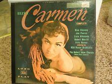 Bizet Carmen Opera 3 LP Record Set RCA Rise Stevens Jan Peerce