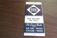 NOVEMBER 1947 ERIE RAILROAD FORM 1 SYSTEM PUBLIC TIMETABLE