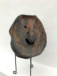 New Guinea Unique Antique Pottery Figure