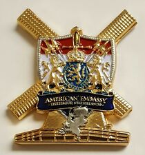 USMC Marine Security Guard Detachment MSG-Det US Embassy The Hague Netherlands