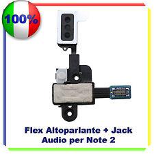 GALAXY NOTE 2 II N7100 Flex Jack Cuffia + Speaker Per Samsung NOTE 2