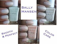 Sally Hansen Smooth and Perfect Color + Care Polish ~You Pick~