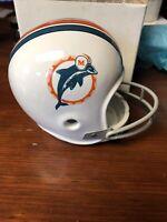 Vintage 1970's Miami Dolphins Ceramic Ashtray