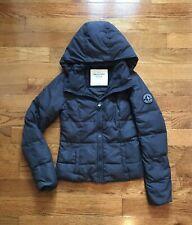 Abercrombie And Fitch Jacket Coat Winter Gray Womens XS