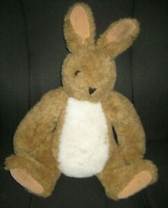 """Vermont Teddy Bear Rabbit 18"""" Jointed Arms & Legs"""