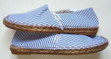 Espadrillas a RIGHE bianche blu VISCATA EU 40 Blue White STRIPES Espadrilles