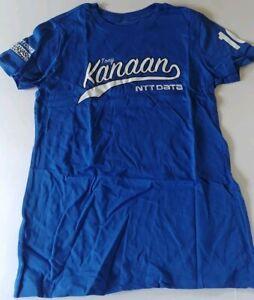 Tony Kanaan Chip Ganassi Racing NTT Data Women's Driver T-Shirt NEW XL 1705