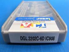 ISCAR Stechplatten DGL 2202C-6D IC908 Neu 10 Stück