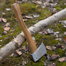 Axe Hatchet 12in Chopping Blade Cover Wooden Handle Hickory Outdoor Garden Tools