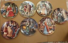 More details for  beautiful royal doulton henry viii and six wives collectors edition plate set