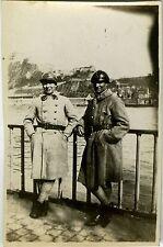 PHOTO ANCIENNE - VINTAGE SNAPSHOT - MILITAIRE CASQUE ALLEMAGNE - MILITARY 1923
