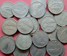 More details for ireland - 85 approx pre-decimal florins - 1 kg. mixed dates.......o 112