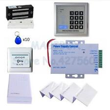 125KHZ RFID Card Password Door Access Control Kit With 60kg/100Lbs Magnetic Lock