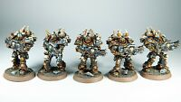 Miniatures for Warhammer 40k. Chaos Star Knights/Traitors Marines