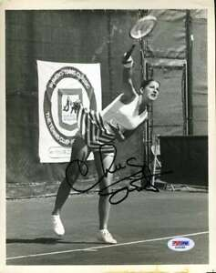 Chris Evert Psa Dna Coa Autographed 8x10 Photo  Hand Signed Authentic