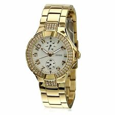 Stainless Steel Strap Analog GUESS Wristwatches
